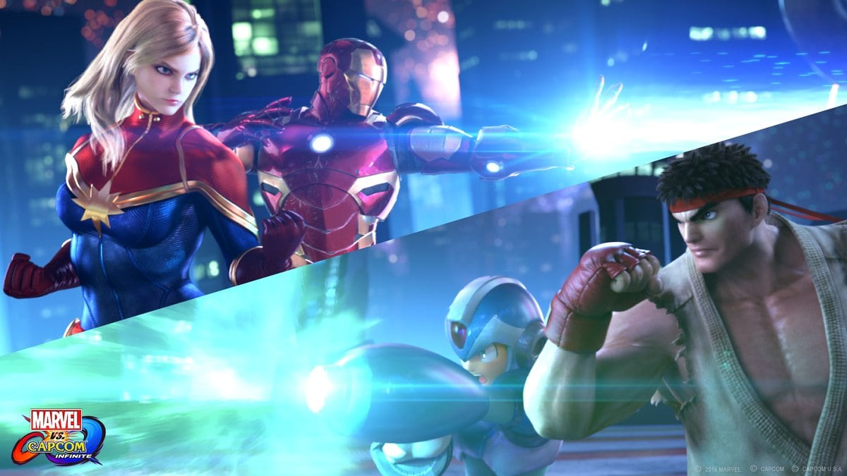 Marvel vs Capcom Infinite Roster