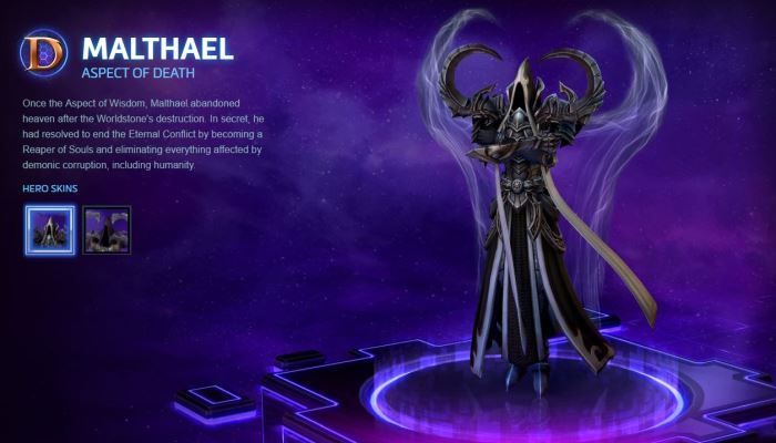 Heroes of the Storm Malthael Spotlight Trailer