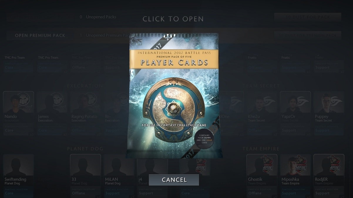 Dota 2 Immortal Items And Player Cards Released: The TI7 Dota 2 Player Cards Are Now Unlocked