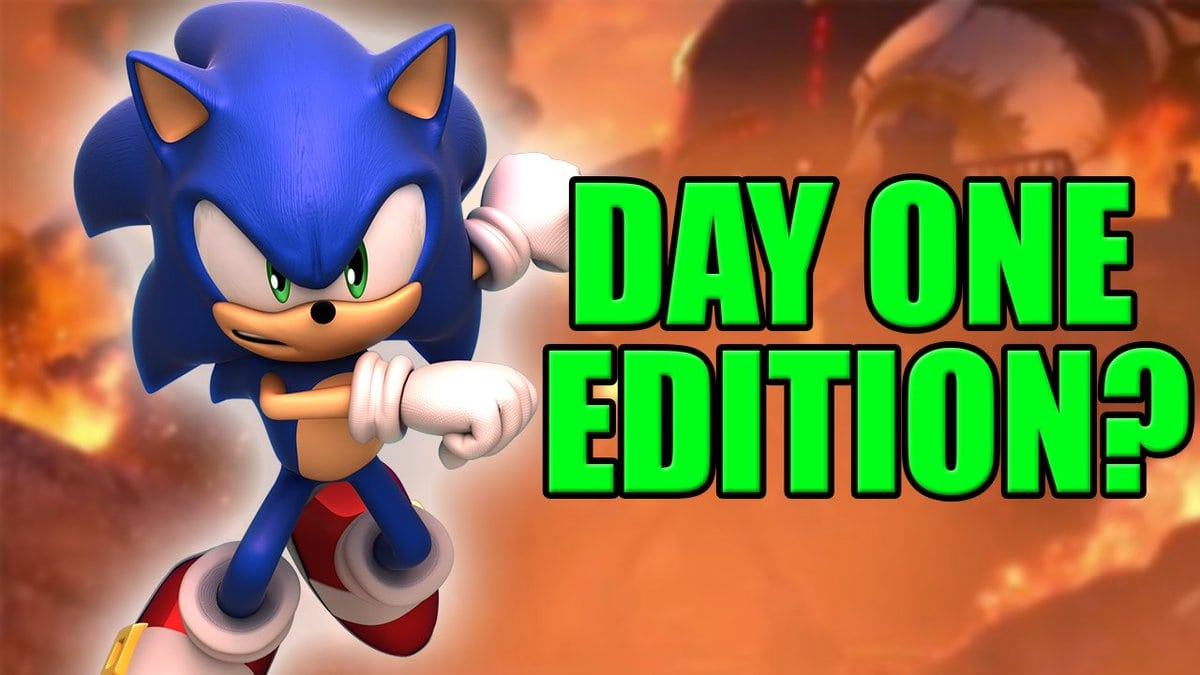 Sonic Forces Day One Edition